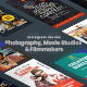 Photography, Movie Studios & Filmmakers Instagram Stories - VideoHive Item for Sale