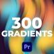 Gradients | Premiere Pro - VideoHive Item for Sale