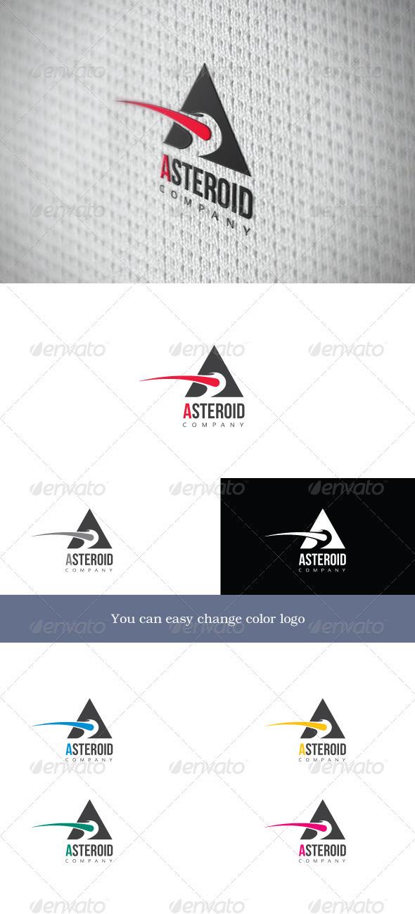 Asteroid Company - Company Logo Templates