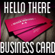 Hello There Business Card - GraphicRiver Item for Sale