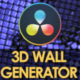 3D Wall Generator - VideoHive Item for Sale