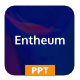 Entheum - NFT Creative Digital Marketplace PowerPoint Template