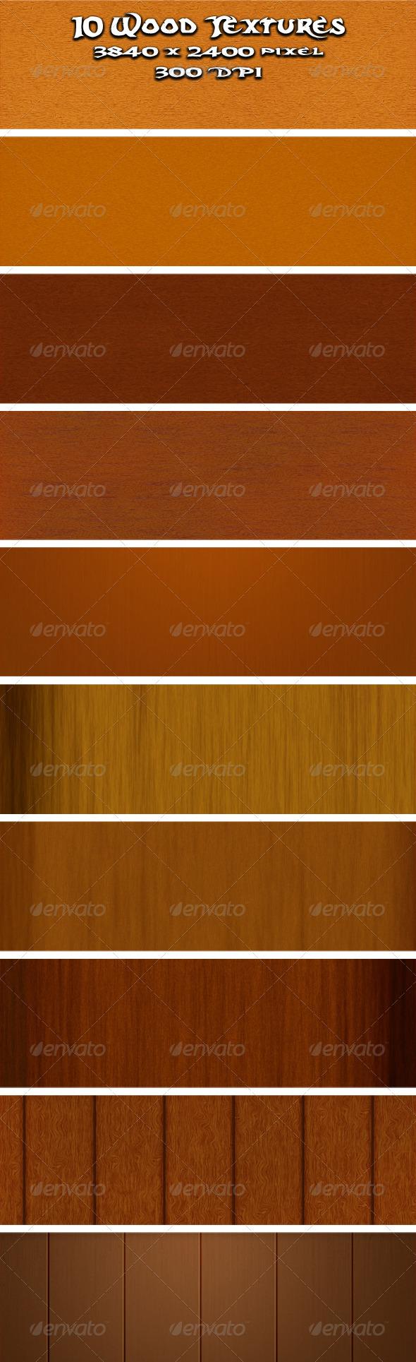 Wood Textures Vol.1 - Wood Textures