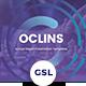 Oclins - Annual Report Googleslide Template