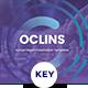 Oclins - Annual Report Keynote Template