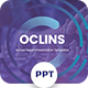 Oclins - Annual Report Powerpoint Template