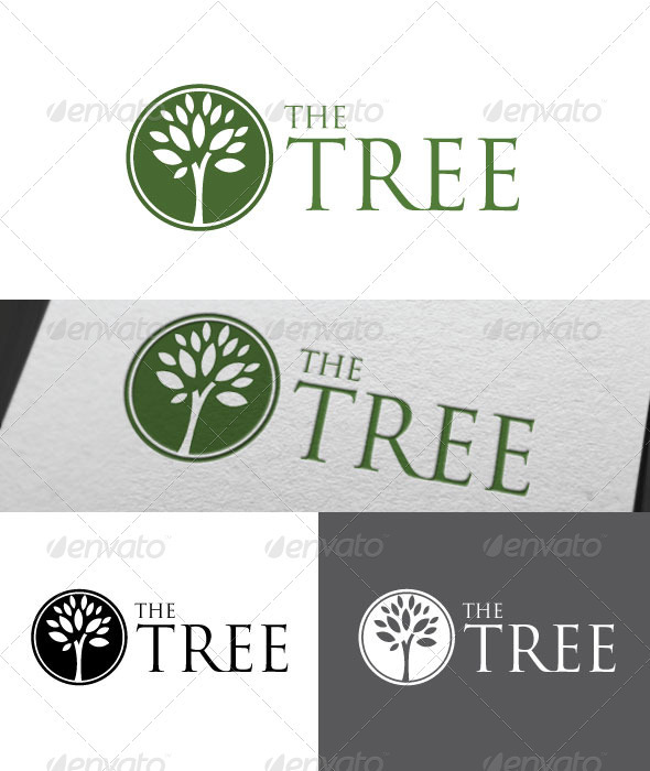The Tree Logo Template - Nature Logo Templates