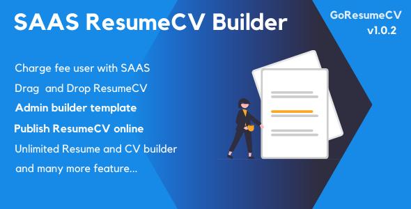 Download GoResumeCV – SAAS Resume Builder Online Free Nulled