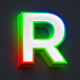 RGB Text Effect