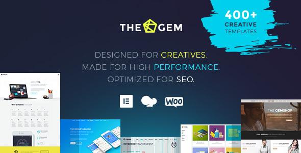 TheGem - Creative Multi-Purpose & WooCommerce WordPress Theme Nulled