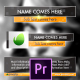 Clean Stylish Lower Thirds Pack - Premiere Pro - VideoHive Item for Sale