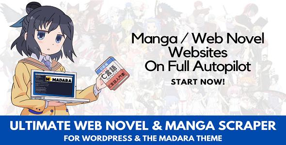 Download Ultimate Web Novel and Manga Scraper Free Nulled