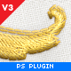 Realistic Embroidery - Photoshop Plugin