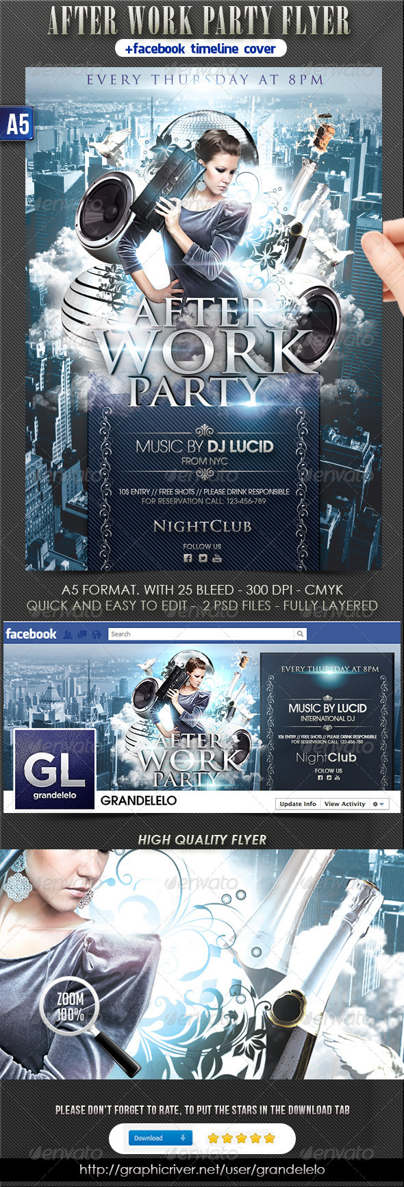 After Work Party - Clubs & Parties Events