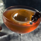 Boozy Cold Manhattan Cocktail with a Big Ice Cube - PhotoDune Item for Sale