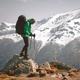 Amazing landscape with snowy mountains range - PhotoDune Item for Sale