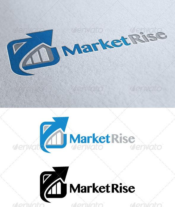 Market Rise - Symbols Logo Templates