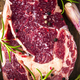 Raw Steak Meat Close Up View - PhotoDune Item for Sale