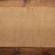 Burlap hessian sacking texture on wooden background - PhotoDune Item for Sale