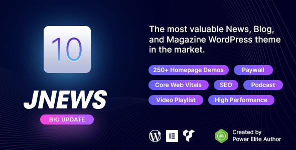 JNews - WordPress Newspaper Magazine Blog AMP Theme Nulled