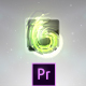 Glass Logo Form - Premiere Pro - VideoHive Item for Sale