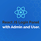 React JS Login Panel with Admin and User