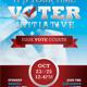 Voter Registration Drive Flyer Template - GraphicRiver Item for Sale