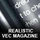 Realistic 100% Vector Magazine - GraphicRiver Item for Sale