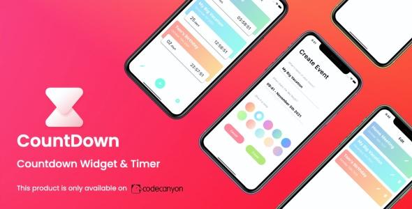 CountDown App (iOS) | Countdown Widget & Timer