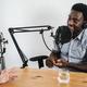 Hosts having podcast session together - PhotoDune Item for Sale