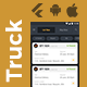 Truck Tracking Android + iOS App Template | 2 Apps | Truck App Driver app | Flutter 2 | TrucksUp