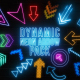 Dynamic Neon Arrows Pack - VideoHive Item for Sale