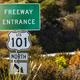 California Highway 101 Entrance Sign - PhotoDune Item for Sale