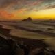 Scenic Northern California Redwood Coast Beach Sunset - PhotoDune Item for Sale