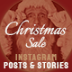 Merry Christmas Sale Instagram Pack B175 - VideoHive Item for Sale