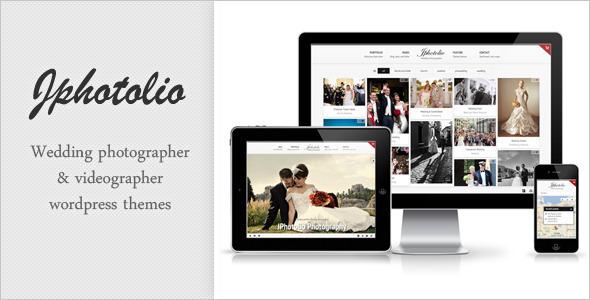Wedding Pographer Websites | Jphotolio Responsive Wedding Photography Wp Theme By Jegtheme