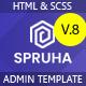 Spruha - Bootstrap 5 HTML Admin & Dashboard Template