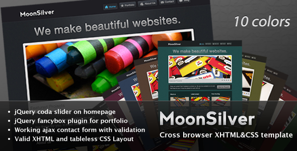 Free Download MoonSilver Nulled Latest Version