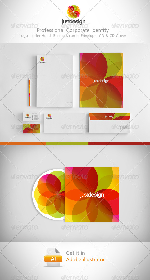 Justdesign Corporate Identity - Corporate Business Cards