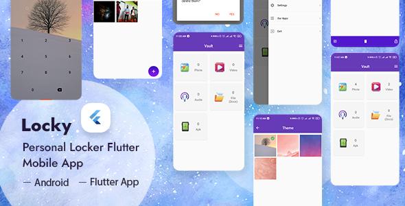 Locky - Folders & Files Locker Flutter App