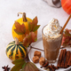 Pumpkin latte, hot autumn drink - PhotoDune Item for Sale