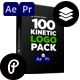 Kinetic Logo Pack - VideoHive Item for Sale