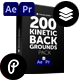 Kinetic Backgrounds Pack - VideoHive Item for Sale
