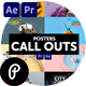 Posters Call Outs - VideoHive Item for Sale