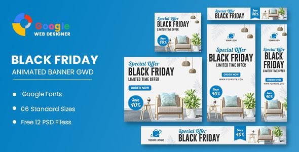 Furniture HTML5 Banner Ads GWD