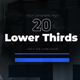 Creative Minimal Lower Thirds - VideoHive Item for Sale