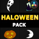 Halloween Elements | DaVinci Resolve - VideoHive Item for Sale