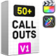 Big Pack Call-Outs   Final Cut - VideoHive Item for Sale