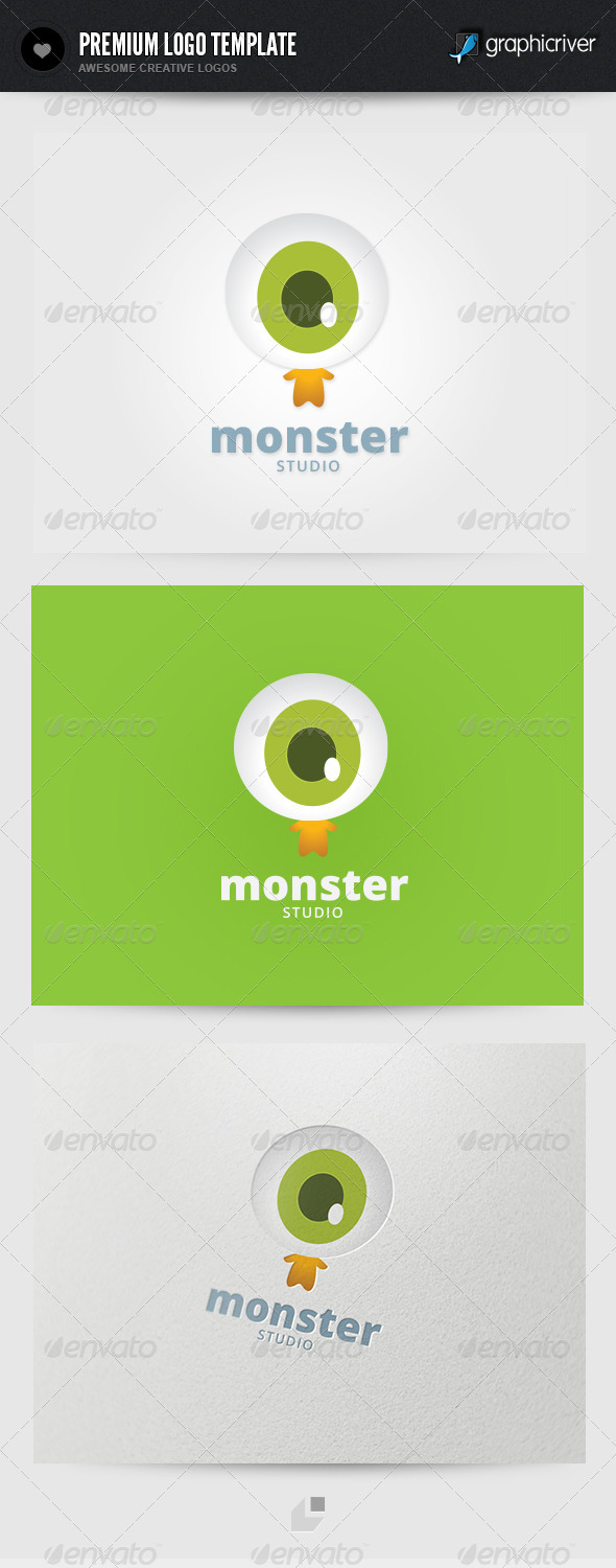 Monster Studio Logo - Humans Logo Templates