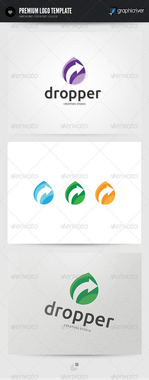 Dropper Creatives Studio Logo - Objects Logo Templates